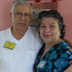 Francisco and Maria-Garcia, guest of the Elmwood Adult Day Health Care Center