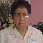 Raymunda Bueno, guest of the Elmwood Adult Day Health Care Center